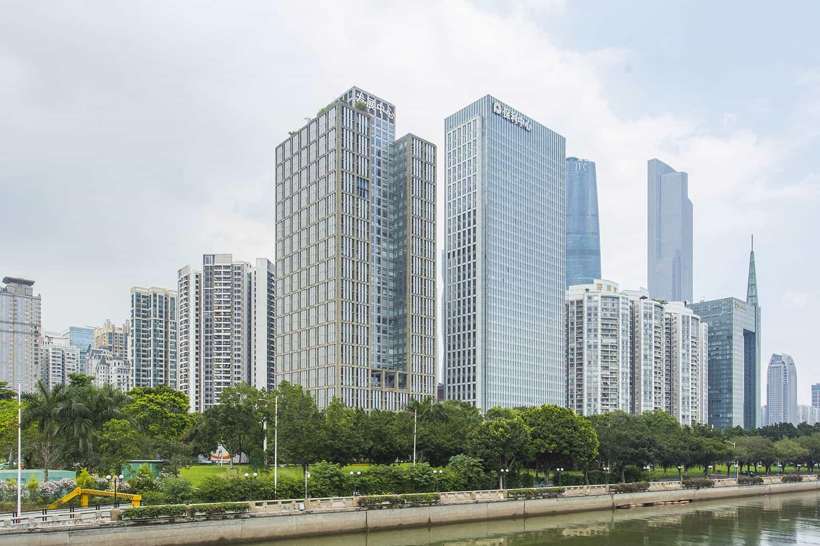 发展中心大厦-外观图