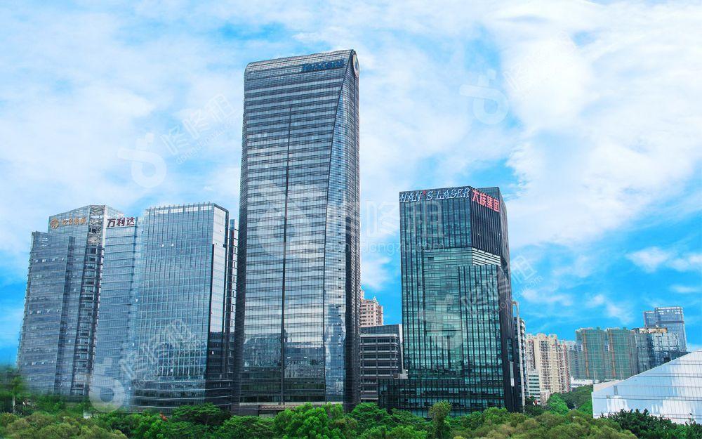 """深圳写字楼出租市场""""遇冷"""",腾讯斥巨资大手笔购地-咚咚租"""