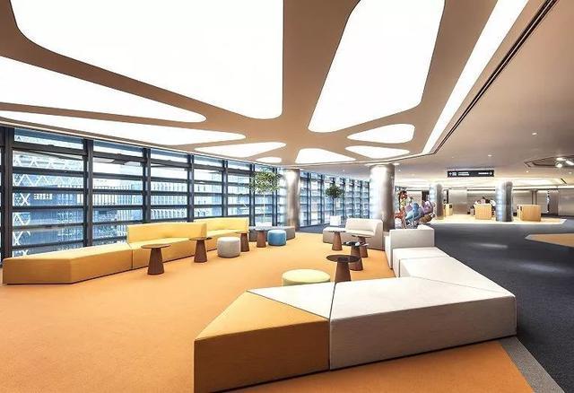 深圳办公室设计鉴赏:腾讯总部(Tencent)设计