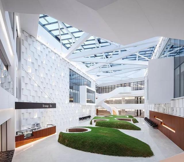 深圳办公室设计鉴赏:腾讯总部(Tencent)设计-咚咚租