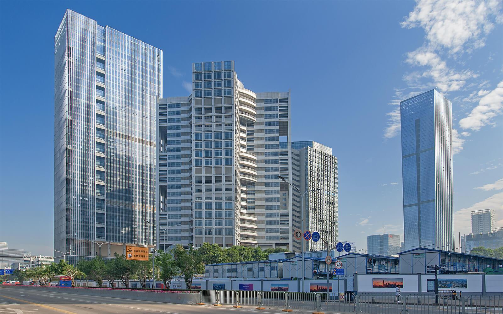 南山办公室彩讯科技大厦出租-咚咚租