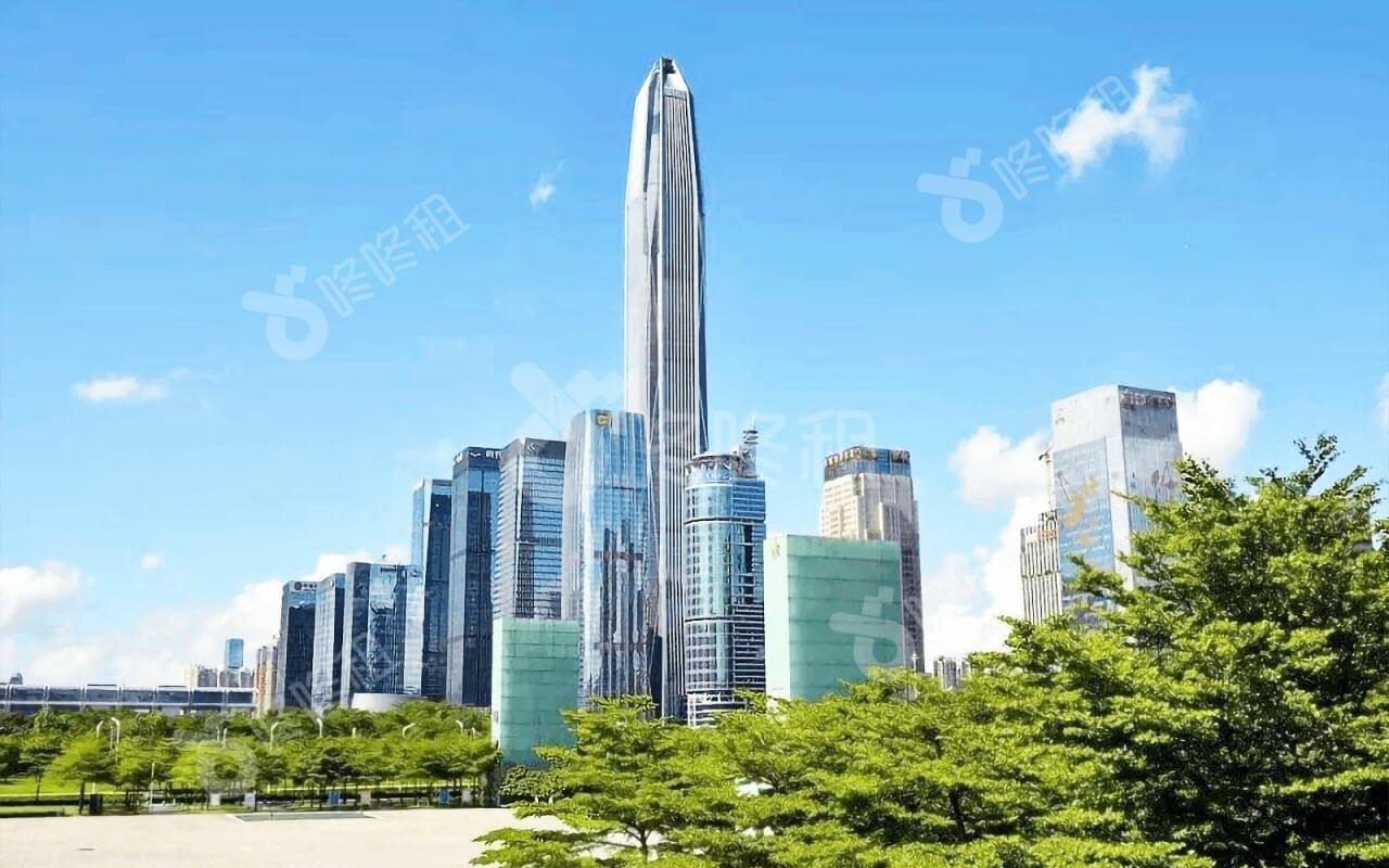 深圳平安金融中心逆势增长 突围写字楼市场困境-咚咚租