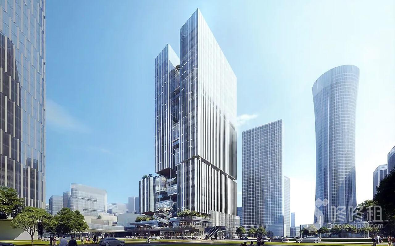 深圳后海金融总部基地又将增一座新建筑-咚咚租